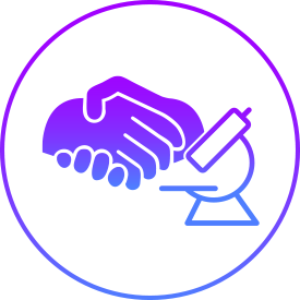 Internally, the program supports ongoing learning. Externally, scientists can access more tools and connect with non-profits seeking cures for serious global diseases