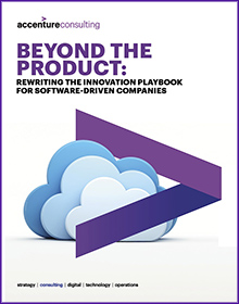 Click here to download the full report. Beyond the Product: Rewriting the innovation playbook for software-driven companies. This opens a new window.