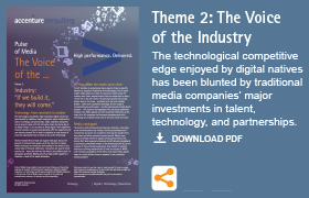 "Theme 2: The Voice of the Industry: ""If we build it, they will come."""