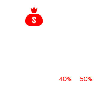 As-a-Service business model can reduce operating expenses for procurement by 40% to 50%