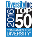 No. 15 on DiversityInc's Top 50 Companies for Diversity, marking five consecutive years in the top 15 (2012-2016) and ten consecutive years on the list over all (2007-2016). Included in five Top 10 lists: No. 8 for Global Diversity; No. 9 for Mentoring; No. 3 for Supplier Diversity; No. 7 for LGBT Employees (2015-2016); and No. 5 for Persons with Disabilities (2016).