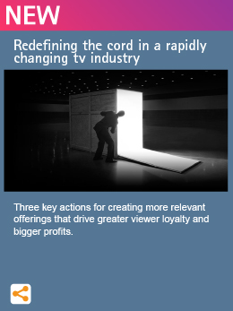 Redefining the cord in a rapidly changing tv industry