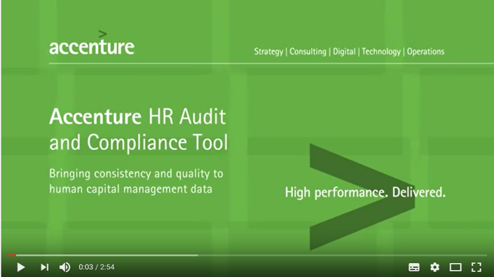 Watch Accenture HCM on YouTube. This opens a new window.