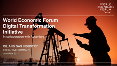 Digital Transformation Initiative - Oil and Gas Industry