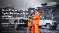 Digital Transformation Initiative - Mining and Metals Industry