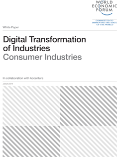 Digital Transformation of Industries - Consumer Industries