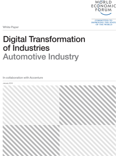 Digital Transformation of Industries - Automotive Industry