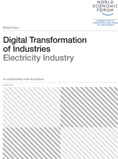 Digital Transformation of Industries - Electricity Industry