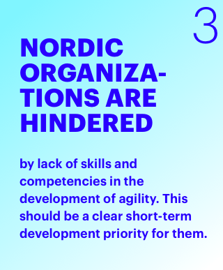Nordic Organizations are hindered