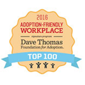 Debuted on Dave Thomas Foundation 100 Best Adoption-Friendly Workplaces</i>, tying at No. 28 overall and ranking No. 5 in the Consulting, Accounting, Legal and Business Services industry (2016)