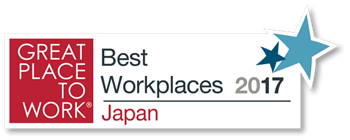 Great place to work - Best workplaces 2017 Japan