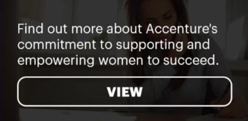 Accenture's commitment to supporting and empowering women to succeed