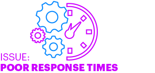 ISSUE: POOR RESPONSE TIMES