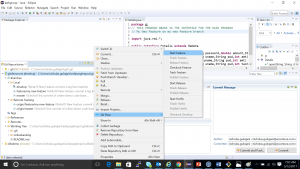 Exhibit B—Eclipse IDE and GitFlow