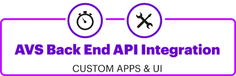 AVS Back End API Integration