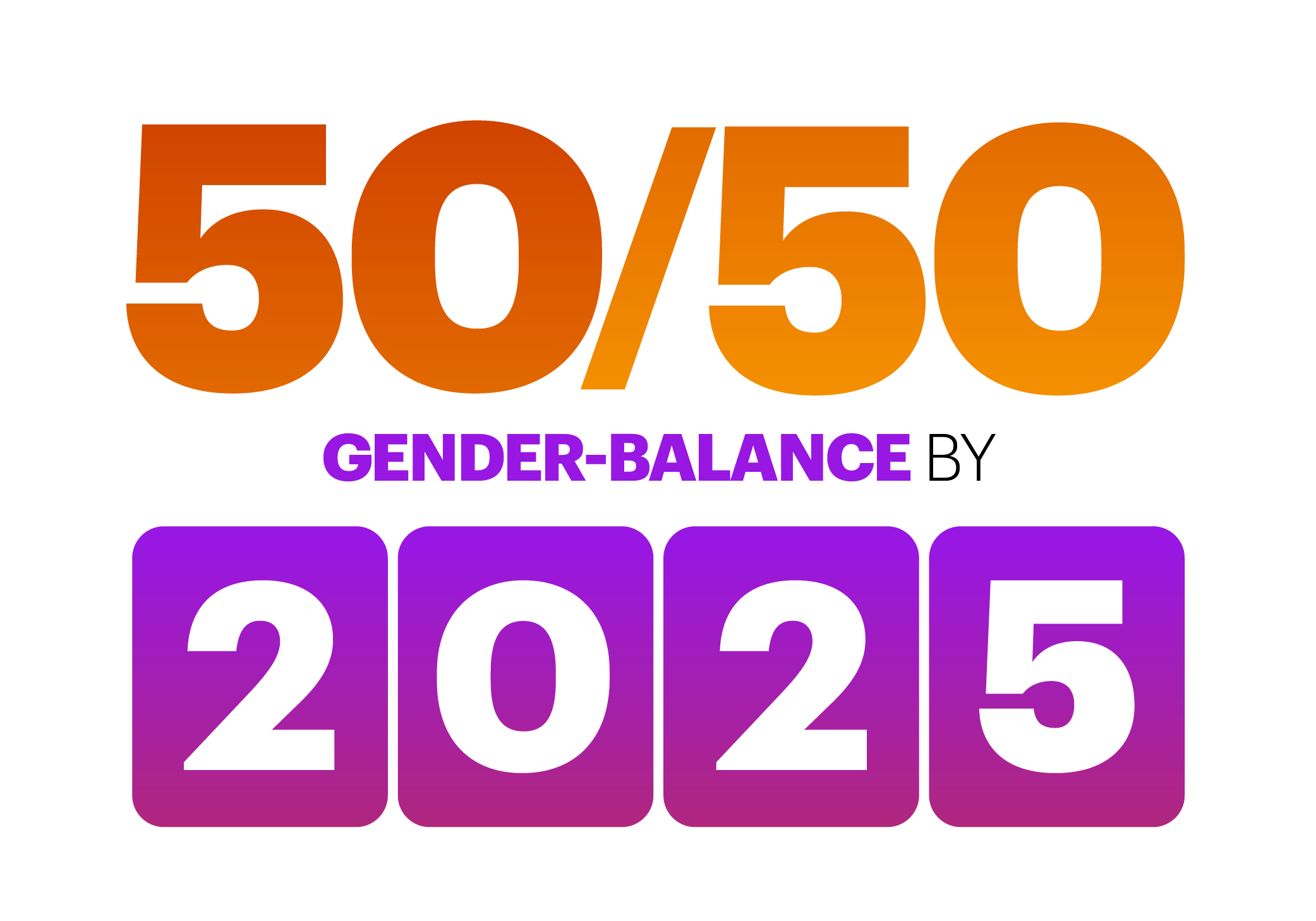 Accenture sets new goal of achieving a gender-balanced workforce, with 50% women and 50% men, by 2025