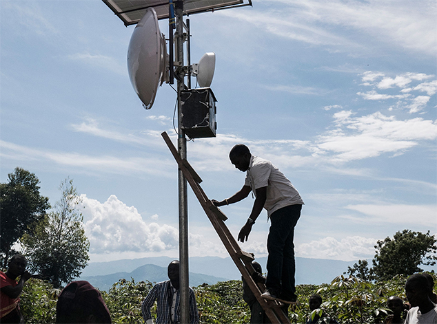 Bringing the internet to Africa's forgotten island
