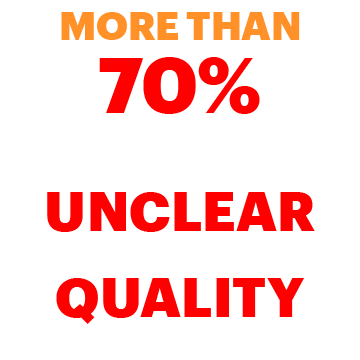 More than 70% of stakeholders report being unclear about the quality function
