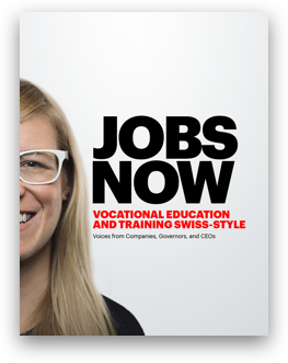 Jobs Now: Vocational education and training swiss-style