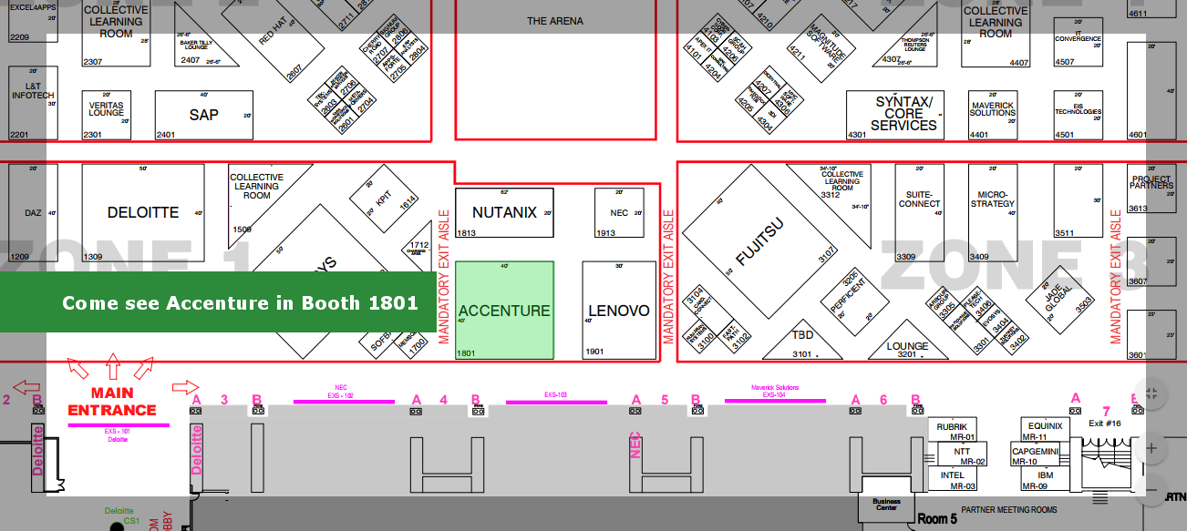 Large Booth Map