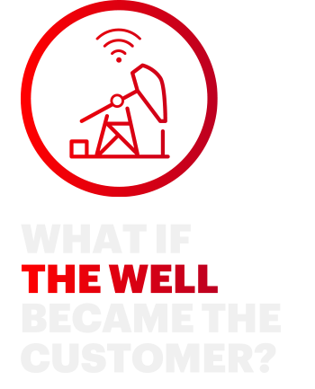 What if the well became the customer