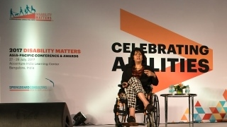 Supporting the Disability Matters Conference in India