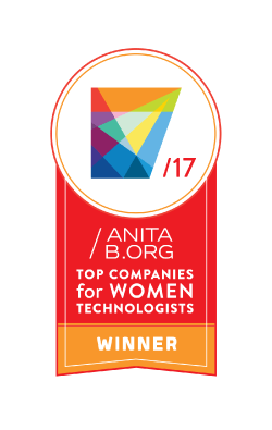 AnitaB.org top companies for women technologists winner