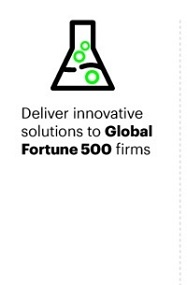 Deliver innovative solutions to Global Fortune 500 firms