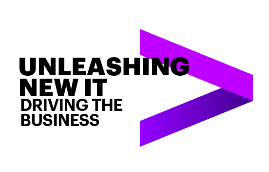 Unleashing New IT: Driving the business. This opens a new window.