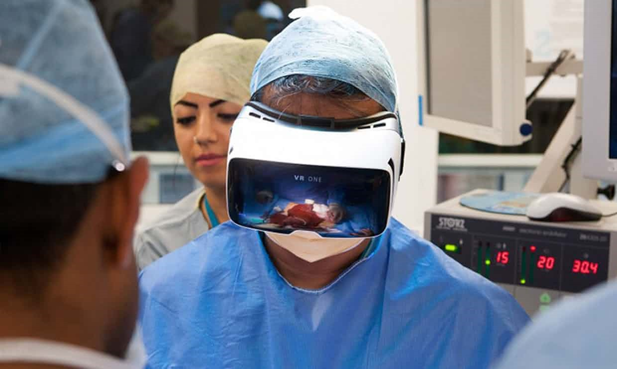 Dr. Shafi Ahmed Performs the First Operation Streamed Live in VR. This opens a new window.