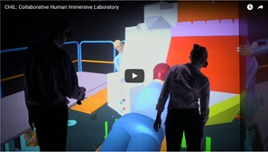 Watch CHIL: Collaborative Human Immersive Laboratory on Youtube. This opens a new window.