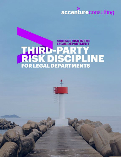 Third-Party Risk Discipline for Legal Departments