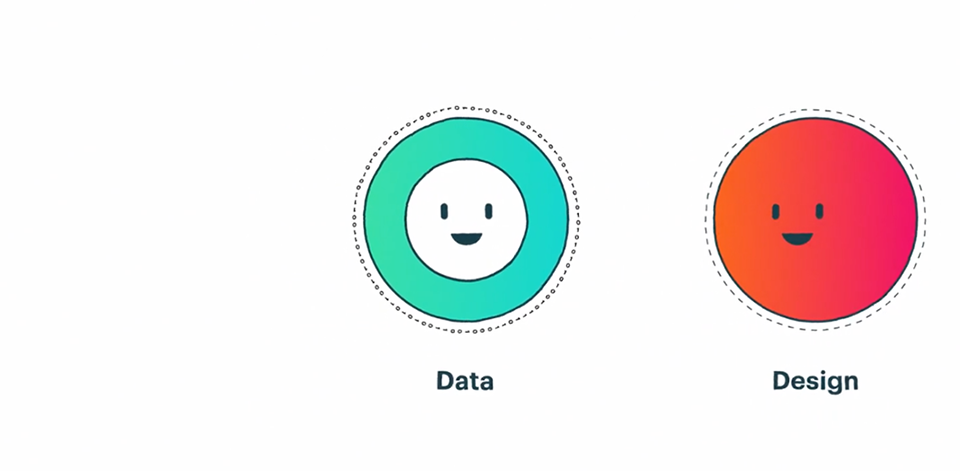 What is Data + Design? A Tale of Two Problem Solvers