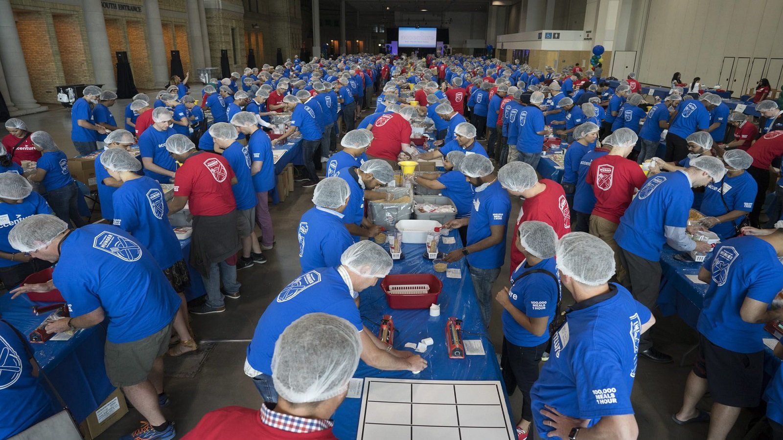 Accenture employees to pack and donate 100,000 meals to toronto's daily bread food bank