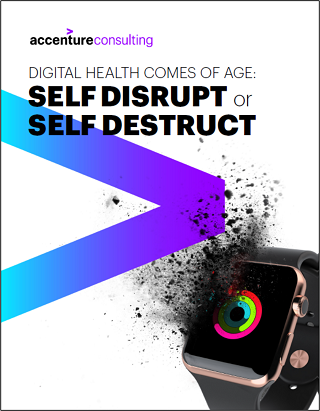Digital Health Comes of Age: Self Disrupt or Self Destruct