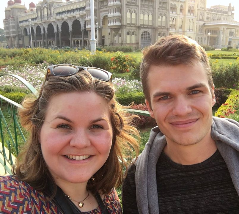 International Exchange Program: Sara and Joel in Bangalore!