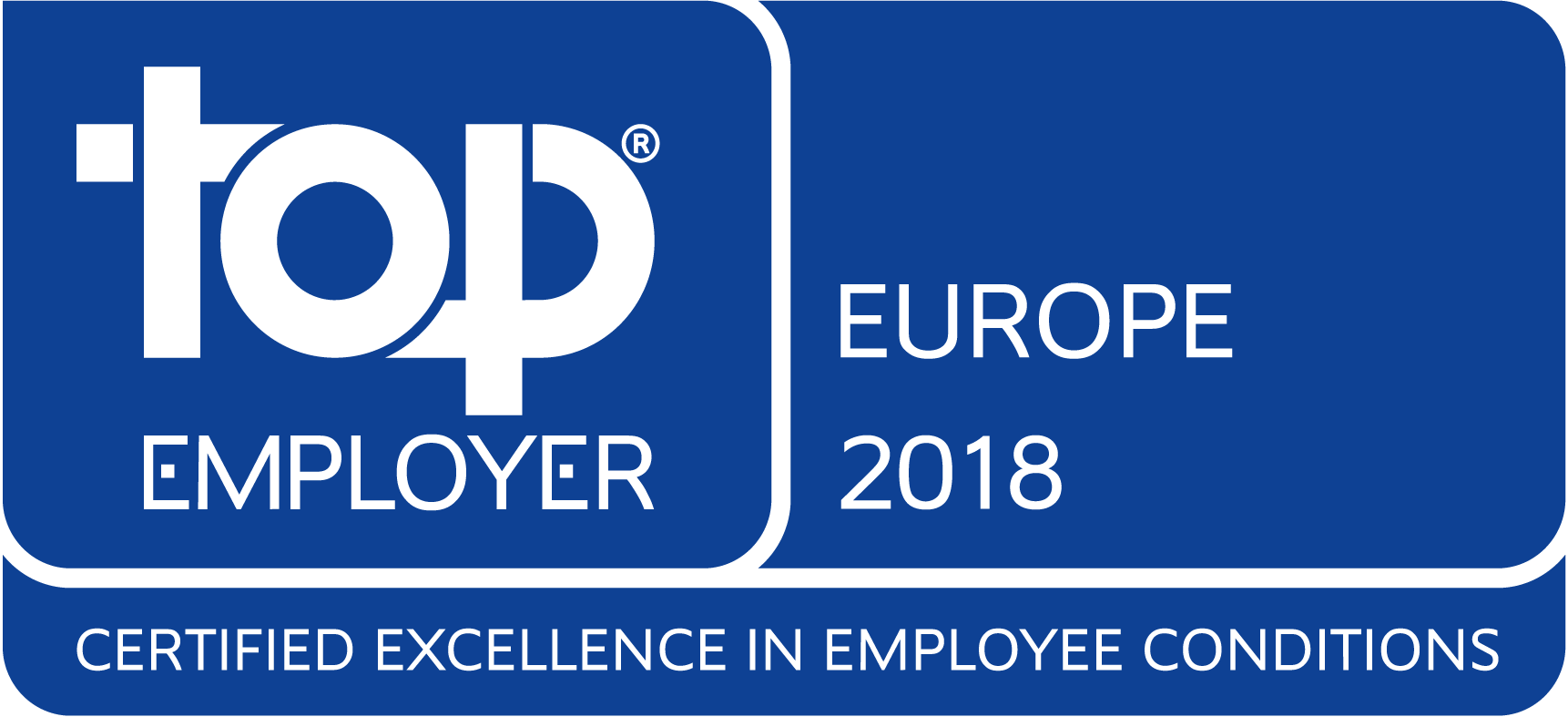 Accenture Top Employer Europe 2018