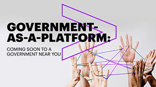 FOUR MODELS FOR GOVERNMENT-AS-A-PLATFORM