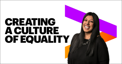 Creating a culture of equality