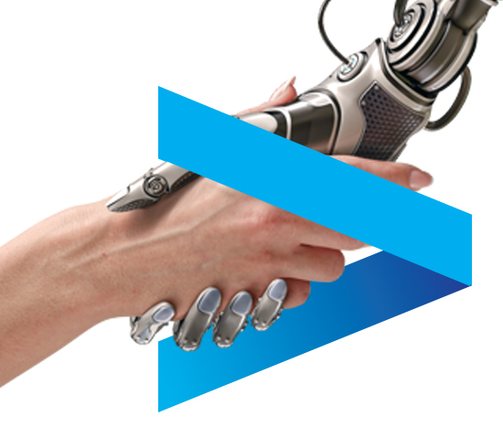Hand and robotic hand