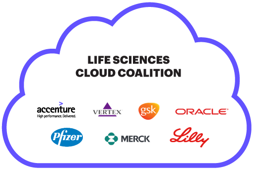 Life Sciences Cloud Coalition Diagram
