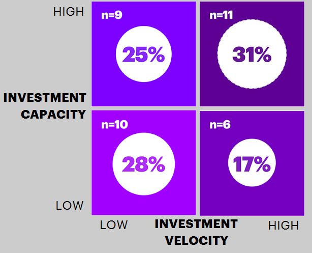Pivot intensity: Investment Capacity vs. Investment Velocity