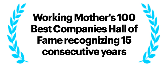 Working Mother's 100 Best Companies Award