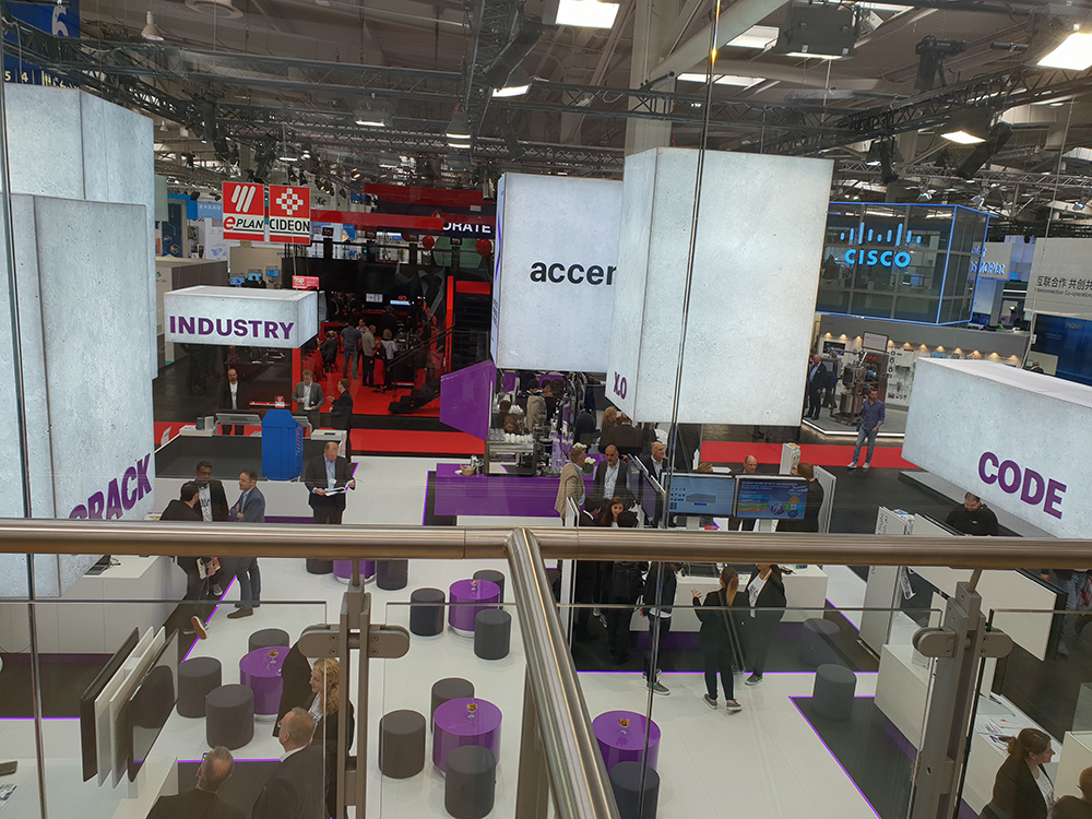 Accenture pavillion at Hannover Messe 2018