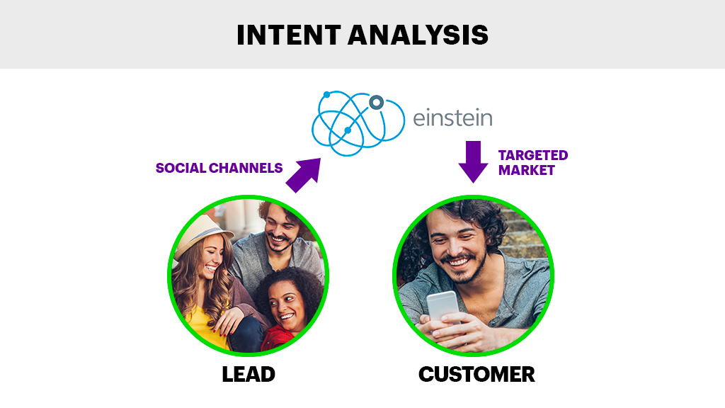 Intent Analysis -Einstein Intent API makes it easy for developers to classify the intent behind the text.