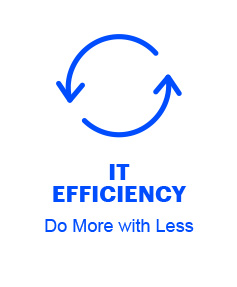 IT Efficiency: Do More with Less
