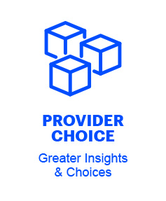 Provider Choice: Greater Insights & Choices