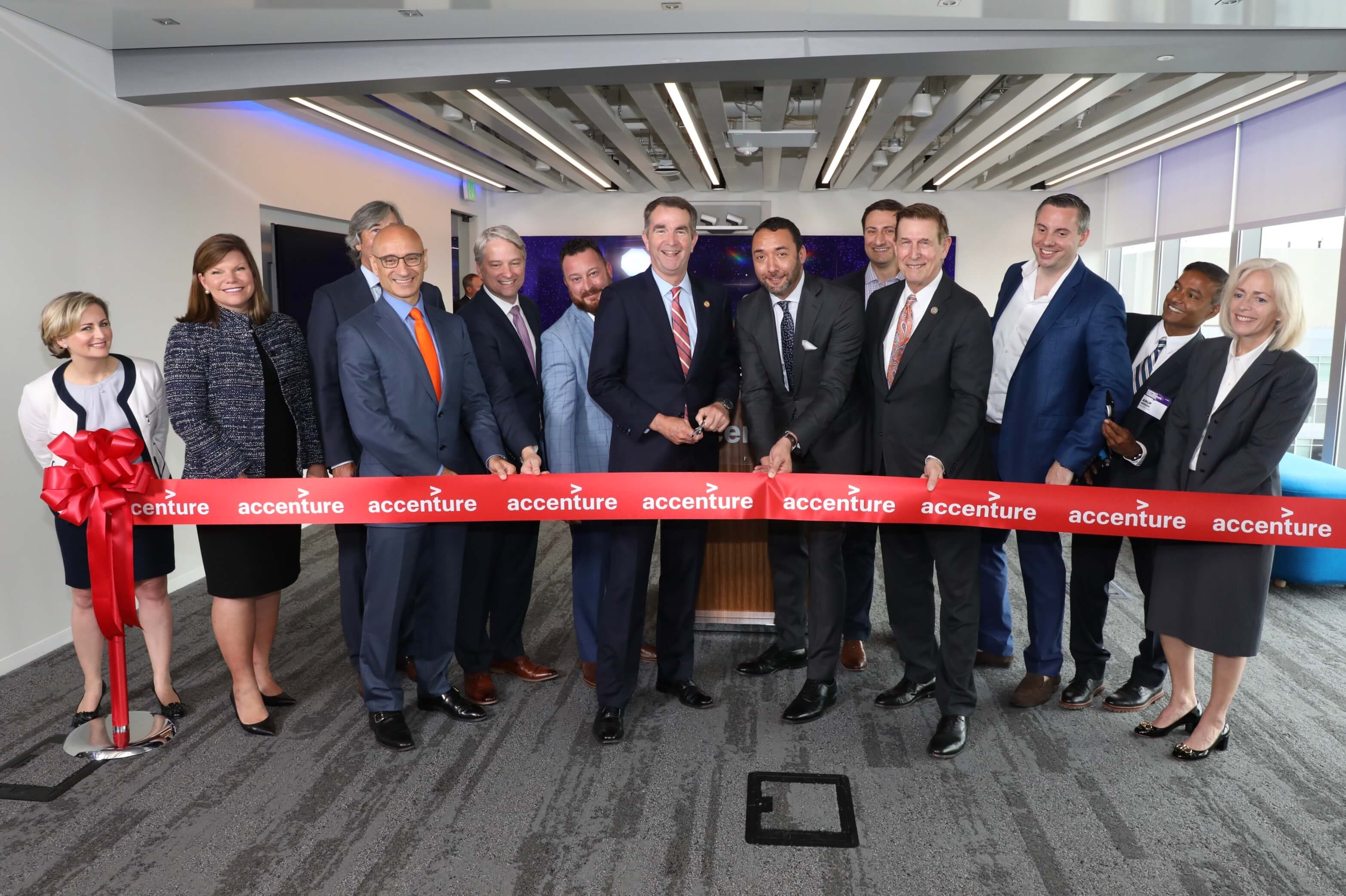 Ribbon Cutting at Cyber Fusion Center