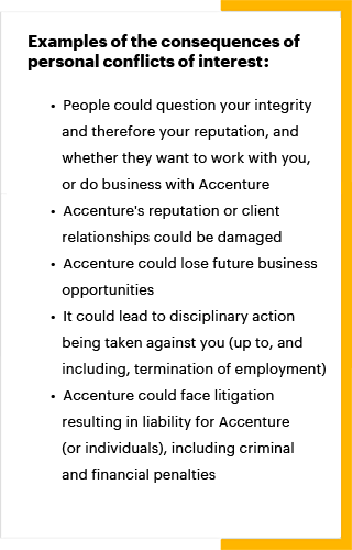 make your conduct count accenture