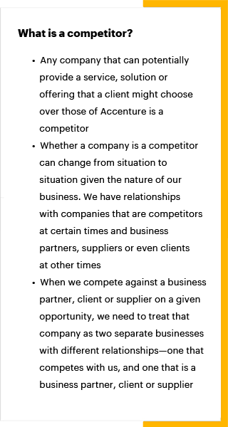 Comply With Laws Accenture